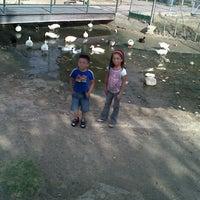 Photo taken at Gimnasio COBACH by Ricardo B. on 7/29/2014