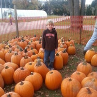 Photo taken at Red Wagon Farm by Mary D. on 10/20/2012