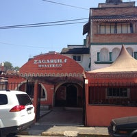 Photo taken at El zacahuil huasteco by ALDO V. on 3/30/2013