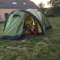 Photo taken at Scouts Sint-Bernadette by Joke D. on 6/9/2017