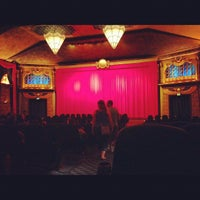 Photo taken at Vista Theater by Dennis W. on 10/1/2012