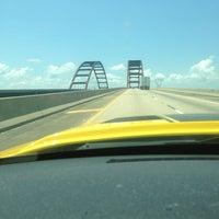 Photo taken at Mobile-Tensaw Delta Bridge by Cameron G. on 7/18/2013