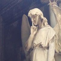 Photo taken at Panteon Frances by Memo M. on 11/2/2014