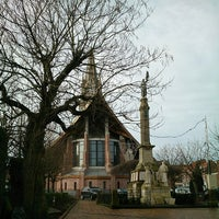 Photo taken at Église De La Bassée by Mr-Lorenzo on 1/3/2014