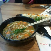 Photo taken at Ichiban Sushi by Vincensia A. on 11/1/2015