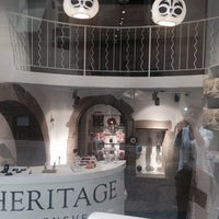 Photo taken at Heritage Genève by Heritage G. on 9/16/2014