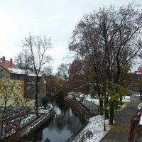 Photo taken at Park Sybirakow by Aleksandra E. on 10/28/2012