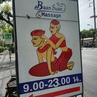 Photo taken at Baan Suan Massage by John K. on 5/24/2016
