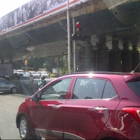 Photo taken at Kemps Corner Flyover by The Architect on 11/19/2013