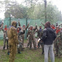 """Photo taken at Paintball park """"PIF PAF"""" by Janis K. on 6/11/2016"""