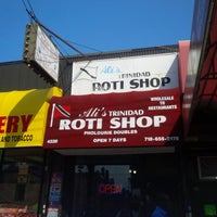 Photo taken at Ali's Roti Shop by Randy on 7/25/2014
