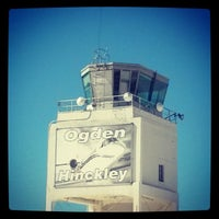 Photo taken at Ogden Hinkley Airport (OGD) by Mike D. on 3/12/2014