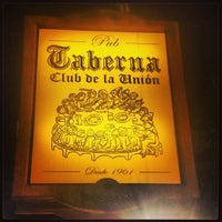 Photo taken at Taberna by Juan V. on 3/23/2013