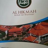 Photo taken at SDBI Al Hikmah by Syamsiar Aulia R. on 2/13/2013