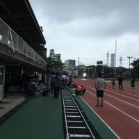 Photo taken at 府中市民陸上競技場 by sam_rai on 7/17/2016
