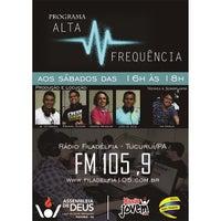 Photo taken at Rádio Filadélfia by Ezequiel S. on 4/11/2015