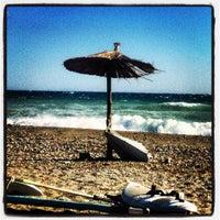 Photo taken at Velika Beach by Billy F. on 9/21/2012