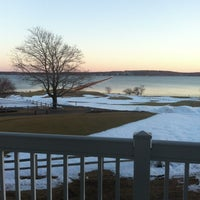 Photo taken at Samoset Resort by Lisa S. on 2/14/2013