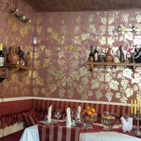 Photo taken at Pirosmani Georgian Restaurant by Alf B. on 6/22/2014