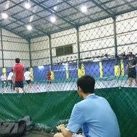 Photo taken at Champion Futsal Arena by Bayu D. on 4/21/2014