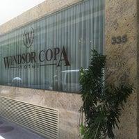 Foto tirada no(a) Windsor Copa Hotel por psuprunov em 2/24/2013