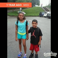 Photo taken at Harmony Elementary by Monica P. on 8/7/2014