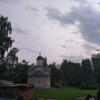 Photo taken at Храм св. мч. Трифона в Напрудном by Костя С. on 6/8/2017