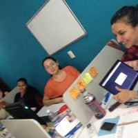 Photo taken at OOH! Social Media Crew by Anahi G. on 2/10/2014