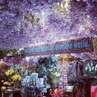 Photo taken at Flower Market by Josue M. on 1/26/2013