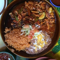 Photo taken at Maya's Mexican by Joey M. on 2/15/2014