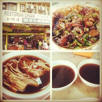 Photo taken at Restaurant Chuan Chiew Bak Kut Teh by Kylie L. on 3/26/2013