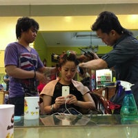 Photo taken at Evergreen Salon by putri c. on 3/19/2013