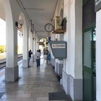Photo taken at Stazione di Ostuni by Elena M. on 5/4/2016