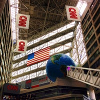 Photo taken at CNN Center by Ana Carla C. on 5/11/2013