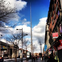 Photo taken at The Spire of Dublin by Ana Carla C. on 2/17/2013
