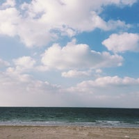 Photo taken at Al Dabiya Beach by Alyaziah. on 2/12/2016