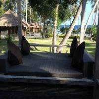 Photo taken at Haad Tien Beach Resort by Nicole A. on 3/20/2013