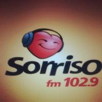 Photo taken at Rádio Sorriso FM by Mayana S. on 5/18/2014