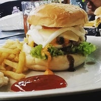 Photo taken at O.M.G Burger Bakar by Muhamad b. on 11/9/2015
