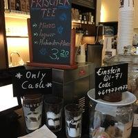 Photo taken at Einstein Kaffee by Markus 🦂 on 10/11/2015