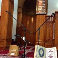 Photo taken at Al-Ansari Mosque مسجد الأنصاري by Bashar A. on 2/21/2014