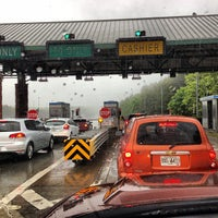 Photo taken at GA 400 Toll Plaza Employee Parking Lot by Stephen G. on 5/4/2013
