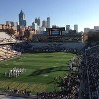 Photo taken at Bobby Dodd Stadium by Stephen G. on 11/17/2012