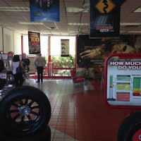 Photo taken at America's Tire Store by Azul C. on 3/18/2014