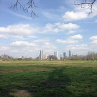 Photo taken at Zilker Park by Courtenay on 3/17/2013