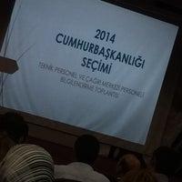 Photo taken at Şehitkamil Belediyesi Meclis Salonu by TurTi on 8/8/2014