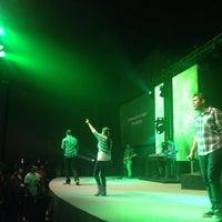 Photo taken at Comunidad Cristiana de México: Mega CCM by Zuleyma B. on 4/17/2014