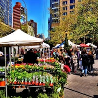 Photo taken at Tucker Square Greenmarket by Ben N. on 4/27/2013