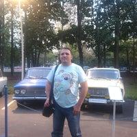 Photo taken at Отечественные ретро автомобили by Яков М. on 8/19/2014
