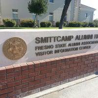 Photo taken at Fresno State - Smittcamp Alumni House by Kathy d. on 8/6/2013